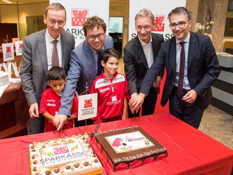 Sparkasse neuer Hauptsponsor des FC Meran - Sparkasse
